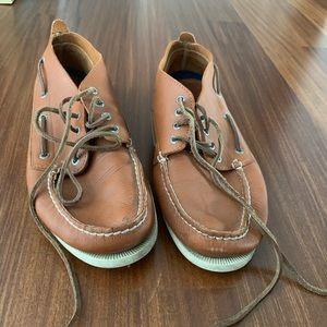Sperry Mens Chukka Boots Size 11 Light Brown